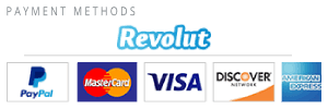 Pay with PayPal or Revolut